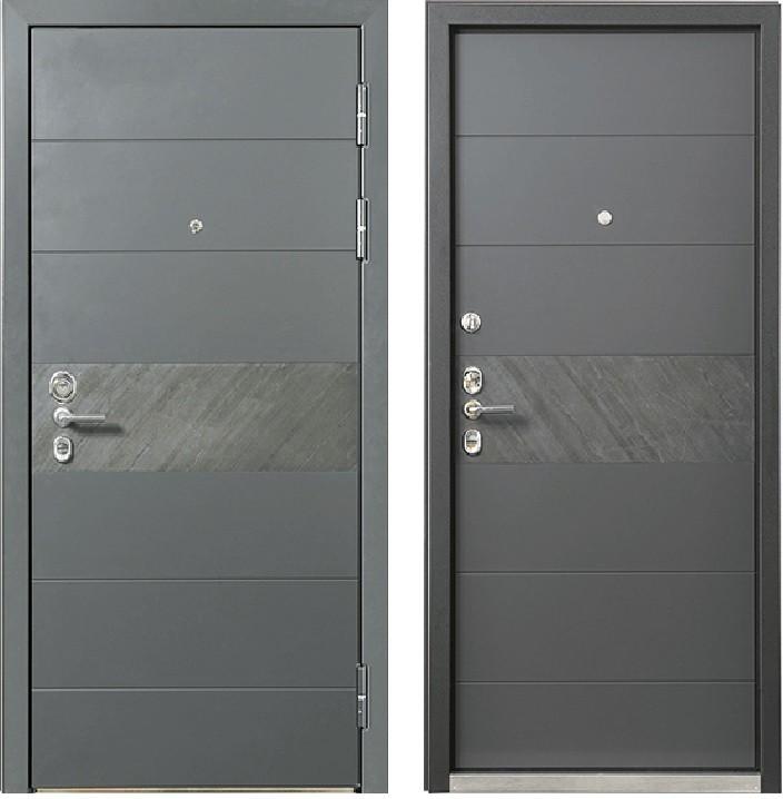 Дверь ULTIMATUM M PР KV-30 Темный-пепел (арт. ПВХ Темный-пепел)
