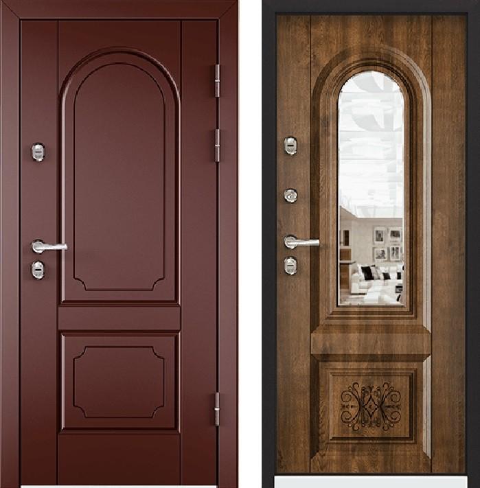 Дверь Torex Snegir 45 РP OS45-03 RAL- 8017 (коричневый)  OS45-03 КТ Дуб медовый