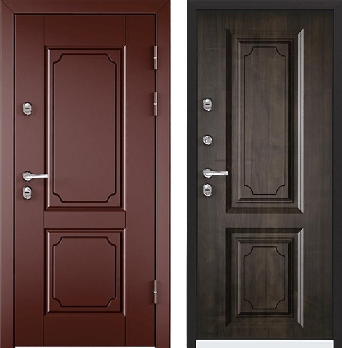 Дверь Torex Snegir 45 РP OS45-05 RAL-8017 (коричневый)  S45-05  Дуб морёный
