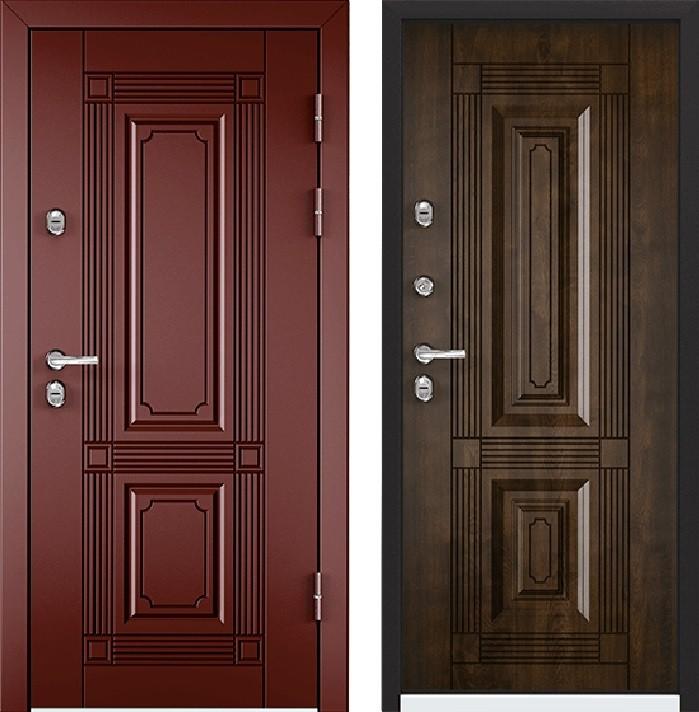 Дверь Torex Snegir 45 РP OS45-02 RAL-8017 (коричневый)  S45-02  КТ Орех грецкий