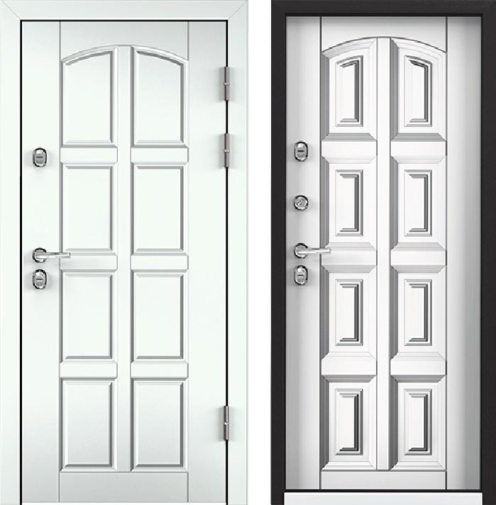 Дверь Torex Snegir 45 РP OS45-04 RAL-9016 (белый)  S45-04  КТ Белый
