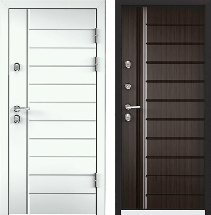 Дверь Torex Snegir 45 РP OS45-07 RAL-9016 (белый)  S45-07  Венге конго