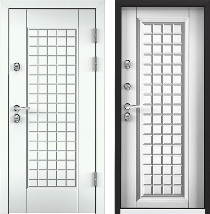 Дверь Torex Snegir 45 РP OS45-09 RAL-9016 (белый)  S45-09 КТ Белый