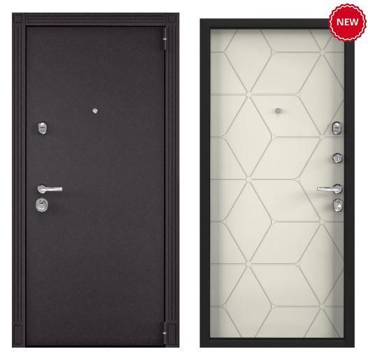 Дверь Torex SUPER OMEGA 100 - RAL 8019 SO-HT-3 ПВХ слоновая кость