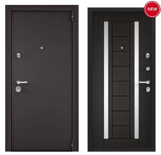 Дверь Torex SUPER OMEGA 100 - RAL 8019 SO-KB-8 ПВХ Венге