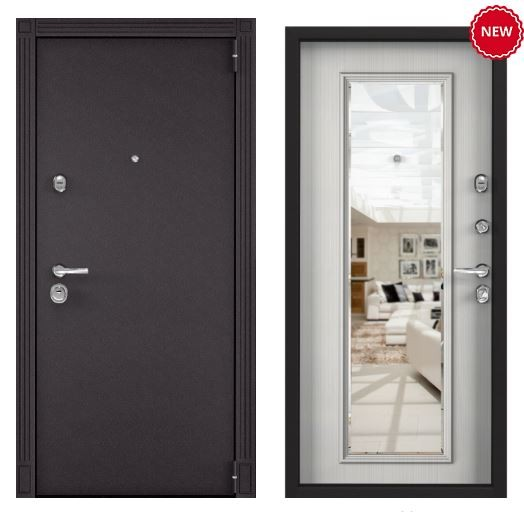 Дверь Torex SUPER OMEGA 100 - RAL 8019 SO-KB-5 ПВХ Шамбори белый