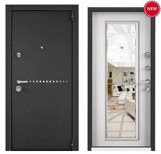 Дверь Torex SUPER OMEGA 100 RP-10 Черный муар металлик SO-KB-5 КТ Белый
