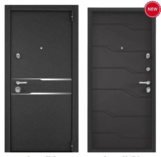 Дверь Torex SUPER OMEGA 100 SP-17 Черный муар металлик SO-HT-6 СТ Графит матовый