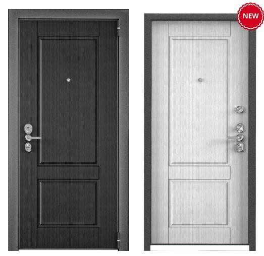 Дверь Torex ULTIMATUM NEXT NC-1 ПВХ Скол дуба черный NC-1 ПВХ Скол дуба белый