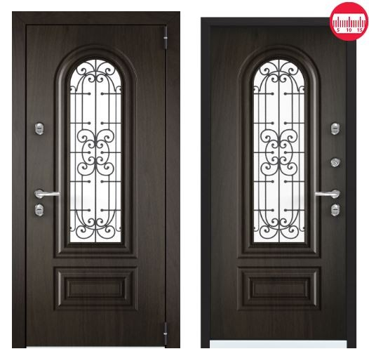 Дверь Torex Snegir Соttage 02 SNG-2M ФМ SNG-2M ФМ Черное дерево