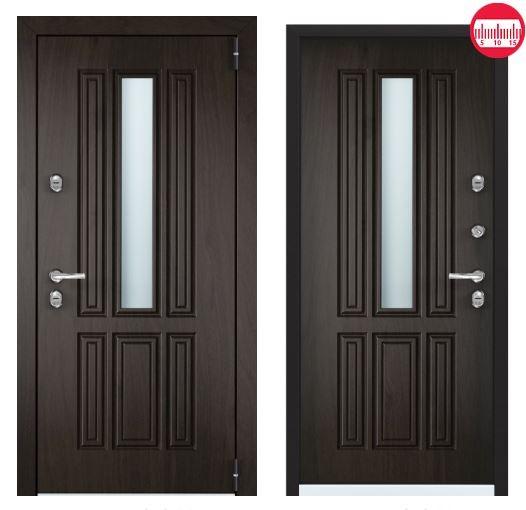 Дверь Torex Snegir Соttage 01 SNG-1М ФМ SNG-1М ФМ Черное дерево