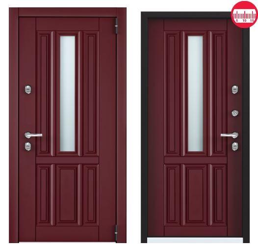 Дверь Torex Snegir Соttage 01 SNG-1 RAL 3005 SNG-1 RAL 3005