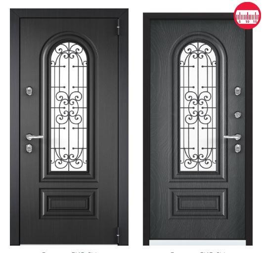Дверь Torex Snegir Соttage 02 SNG-2M ФМ Графен SNG-2M ФМ Ирландский серый