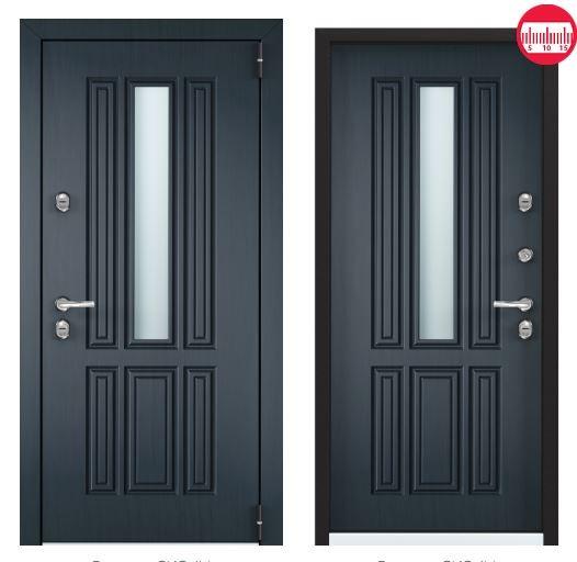 Дверь Torex Snegir Соttage 01 SNG-1М ФМ SNG-1М ФМ Синий прованс